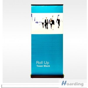 Roll Up Tower Black
