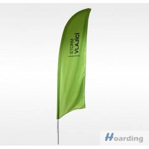 Prutová Vlajka Storm 200 - Vlající