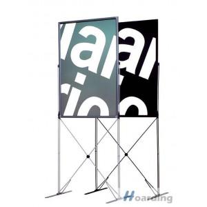 Reklamní poutač X-Stand - stříbrný