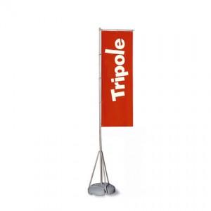 Držák vlajky Tripole set